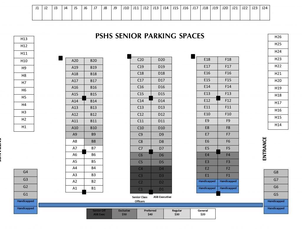 Parking Spot Map