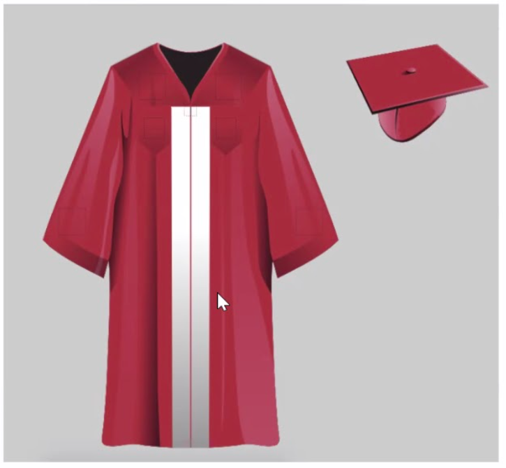 new pshs cap and gown